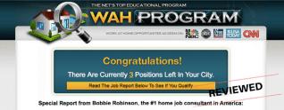 Revisión del programa WAH: ¿Trabajo legítimo en el hogar, oportunidad o estafa?