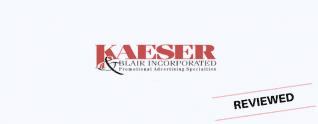 Kaeser & # 038; Revisión de Blair: ¿Deben vender sus productos promocionales?