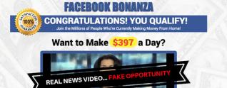 La estafa de bonanza de Facebook: ¡Esto NO es lo que piensas!