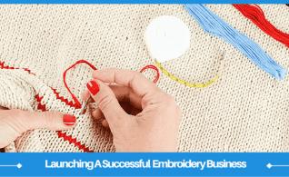 Comenzando un negocio de bordado en casa: 2 enfoques únicos