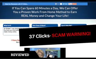 El Kelly Scott & # 8217; 37 clics & # 8217; Scam- ¡Guarde su dinero!