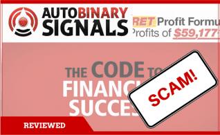La estafa de señales binarias de Roger Pierce Auto