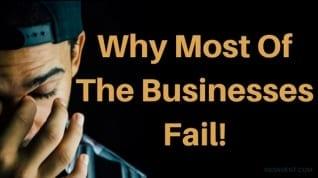 ¿Por qué la mayoría de las empresas fracasan? cómo evitar el fracaso empresarial & # 8211; Indiavent