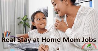 20 Real Stay at Home Mom Jobs in 2019 para amas de casa