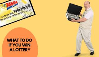 ¿Qué hacer si ganas una lotería?