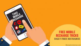 Trucos de recarga gratis & # 8211; Gana recarga móvil gratuita diaria