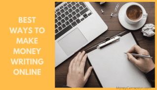 Hacer dinero escribiendo: 6 mejores maneras de pagar para escribir artículos
