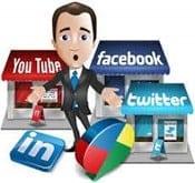 manage social media accounts
