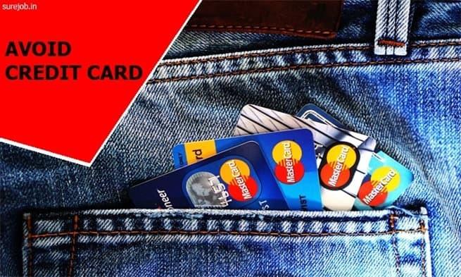 avoid credit card