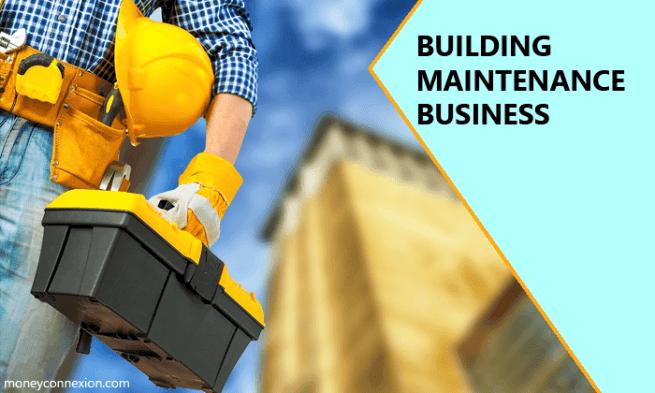 negocio de mantenimiento de edificios