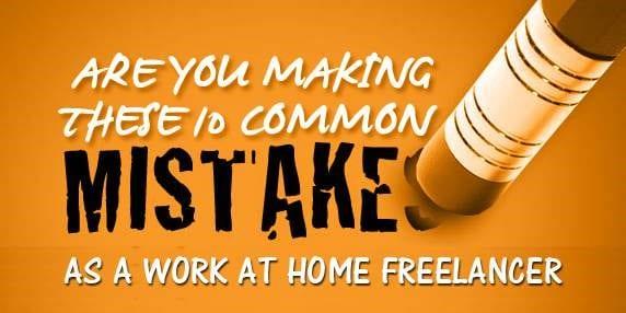 common freelancer mistakes