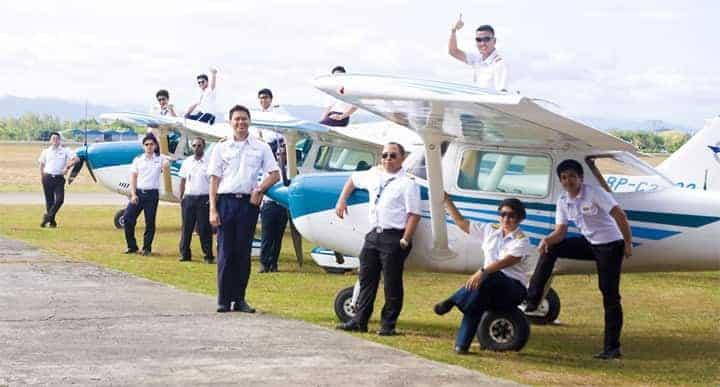 escuela de vuelo