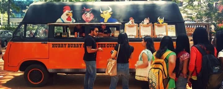 negocio de camiones de comida