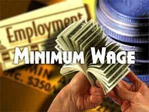 minimum wages in world
