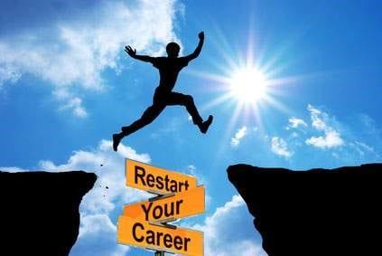 overcome career change fear