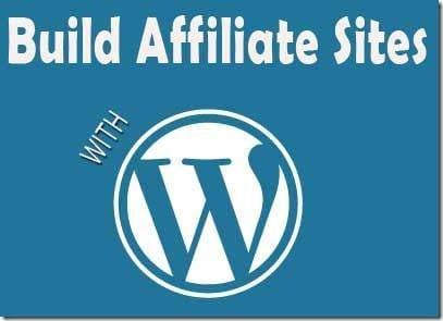 wordpress affiliate sites