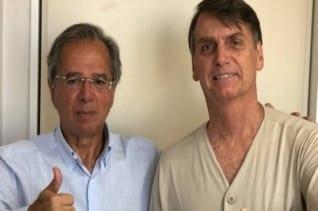 : Guedes visita a Bolsonaro en el hospital