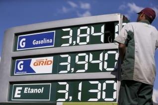 : La primera vez que el precio medio de la gasolina pasa de R $ 3,90