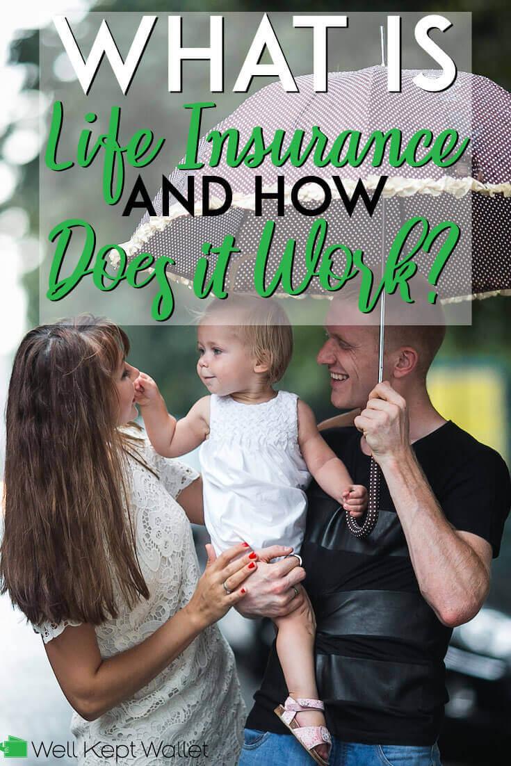 ¿Qué es el seguro de vida y cómo funciona? Pinterest pin