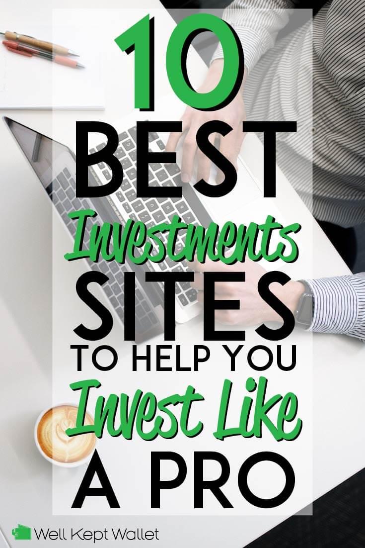 10 mejores sitios de inversión pinterest