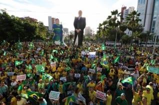 Actos pro-Moro y Bolsonaro ocurren en al menos 70 ciudades