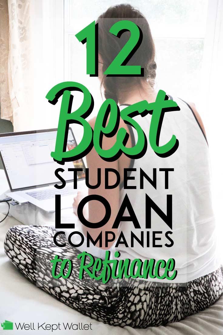 Las mejores empresas de préstamos estudiantiles para refinanciar sus préstamos.