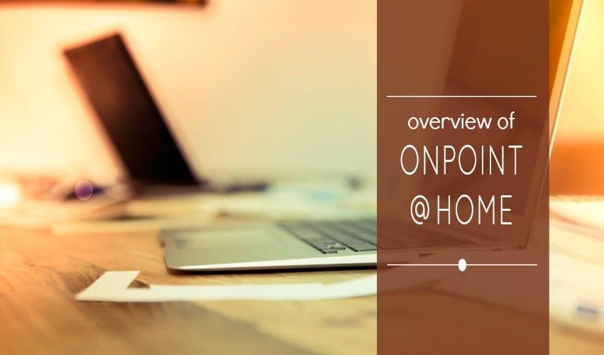 Trabajar desde casa escribiendo cartas y haciendo llamadas a OnPoint Advocacy