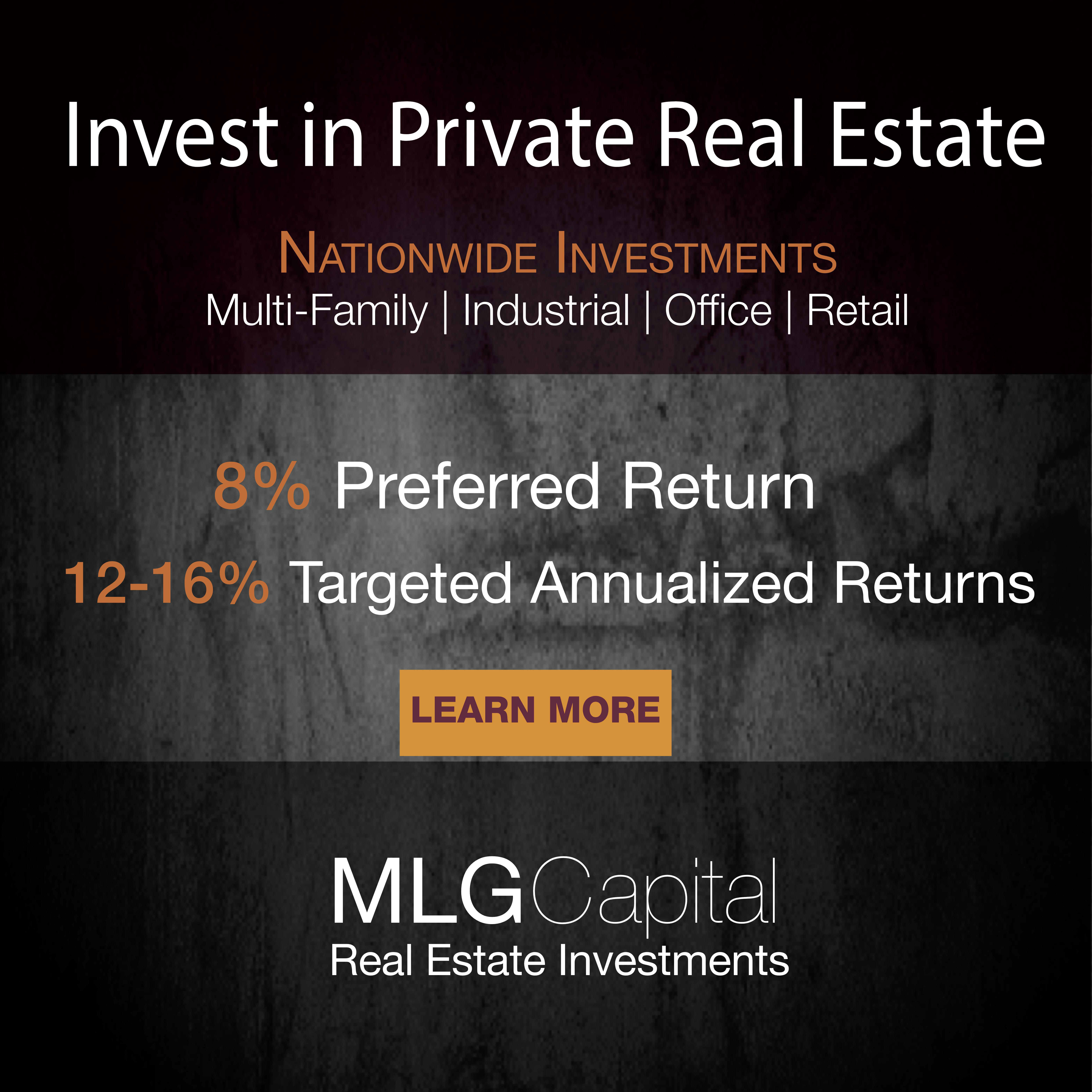 MLG capital invierte en bienes inmuebles privados