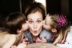 trabajo en casa mamá con niños