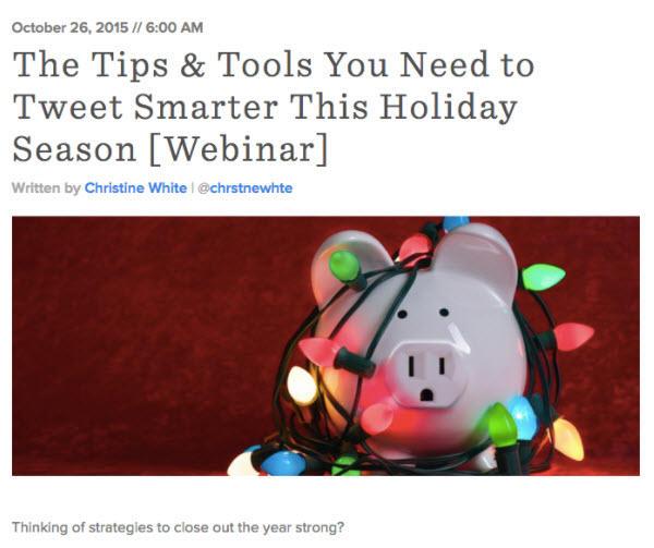 campañas de marketing temáticas de vacaciones
