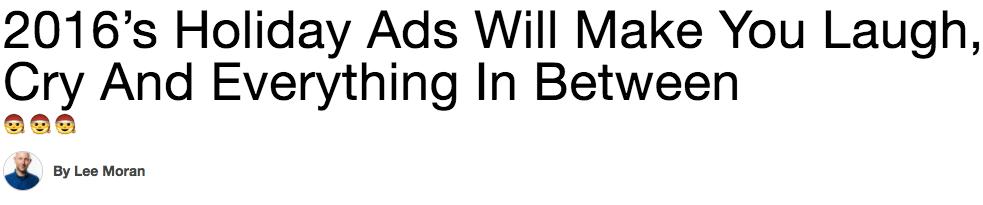 ejemplos de anuncios de vacaciones