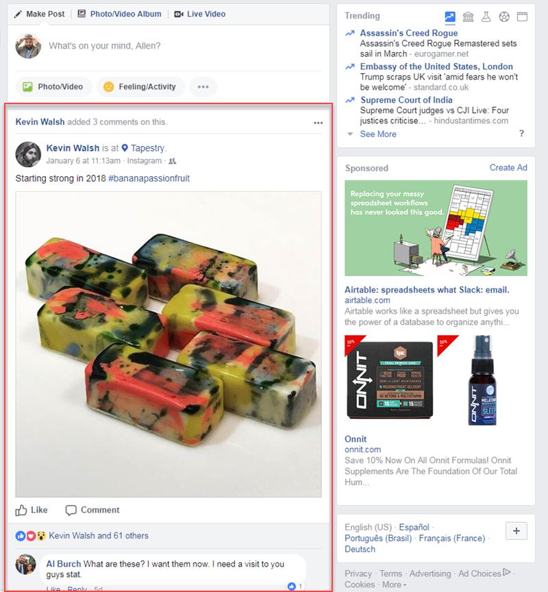 cambios en las noticias de Facebook impactan a los anunciantes de smb