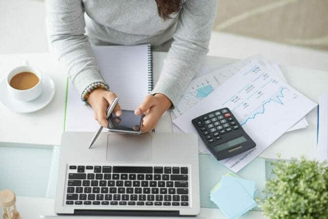trabajos en línea contable