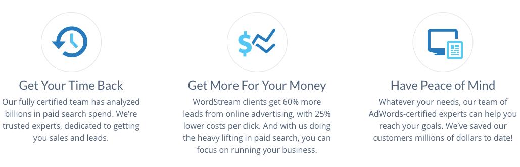 el cliente de Wordstream inspira el marketing