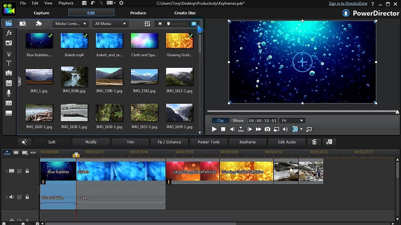 El mejor software de edición de video para principiantes CyberLink 2