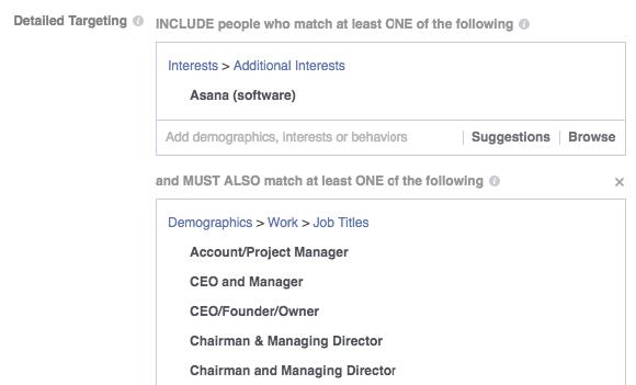 Anuncios de Facebook para empresas SaaS cómo dirigirse a sus usuarios existentes