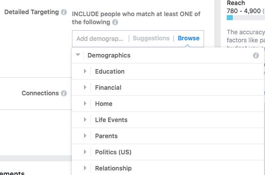 segmentación demográfica de instagram