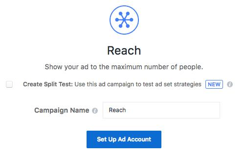 campaña de alcance para anuncios de instagram
