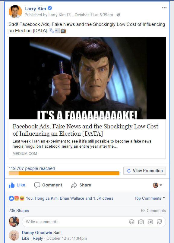 segmentación de anuncios de Facebook de Larry Kim