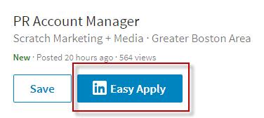 Cómo escribir una carta de presentación para una solicitud de empleo LinkedIn Solicitud fácil