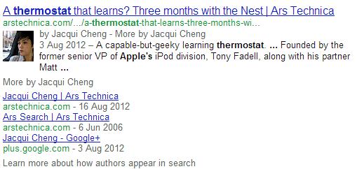 resultados de autor de google