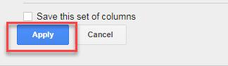 aplicar columna creada adwords ui