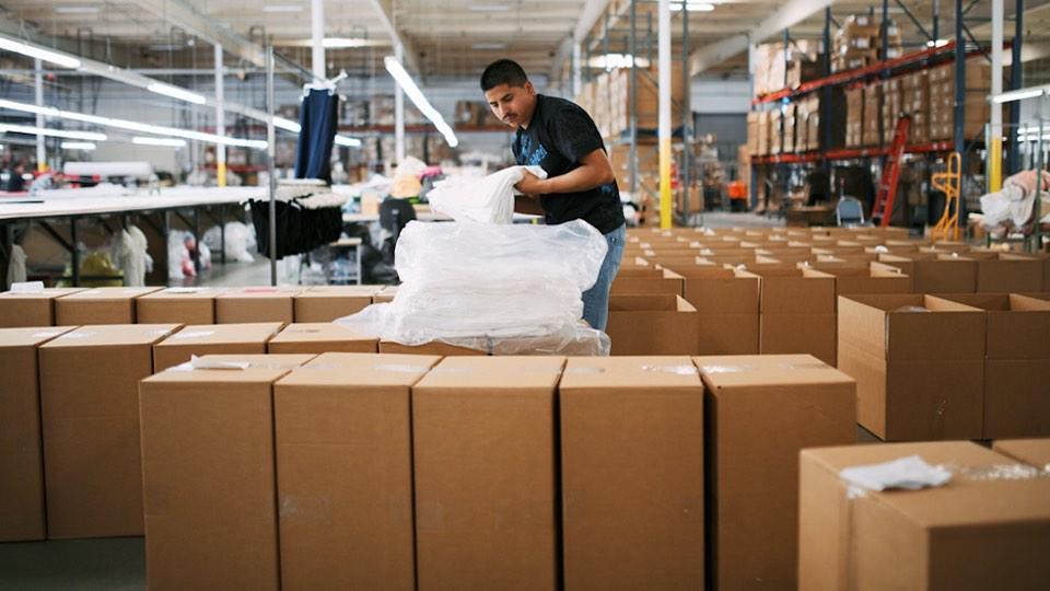 Comercialización ética del trabajador de la fábrica Everlane