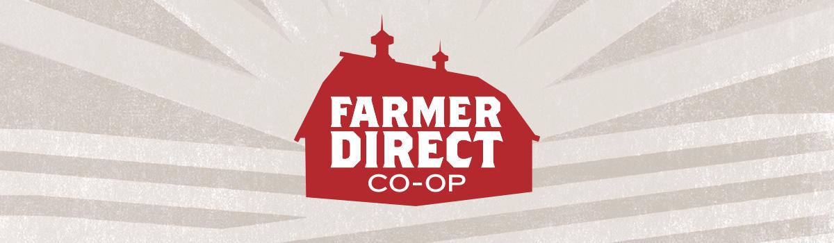 Marketing ético Logotipo de Farmer Direct Coop Canada