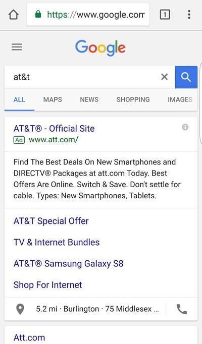 costo del tráfico de marca en dispositivos móviles