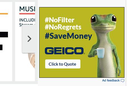 Guía de principiantes para anunciar en Amazon ejemplo de anuncio gráfico