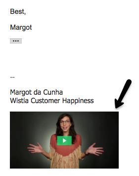Cómo construir una cultura de video en su empresa, use ejemplos de firma de correo electrónico de video