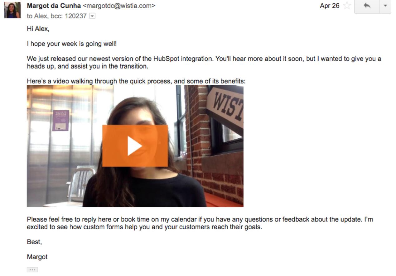 Cómo desarrollar la cultura del video en su empresa use el video en correos electrónicos