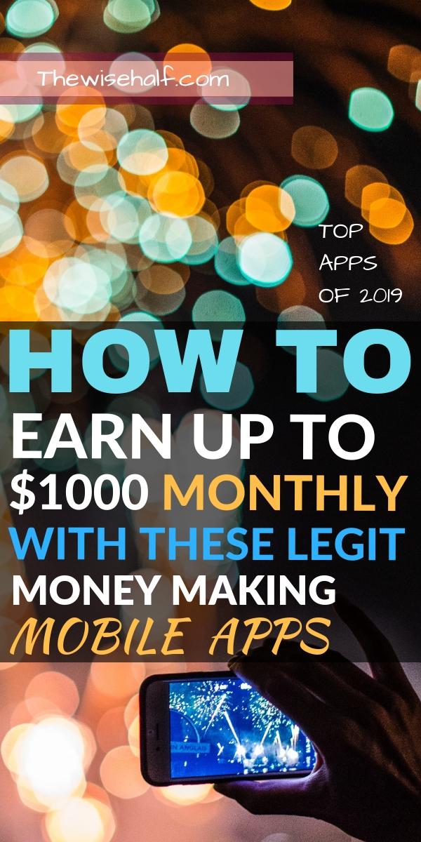 aplicaciones que te hacen ganar dinero