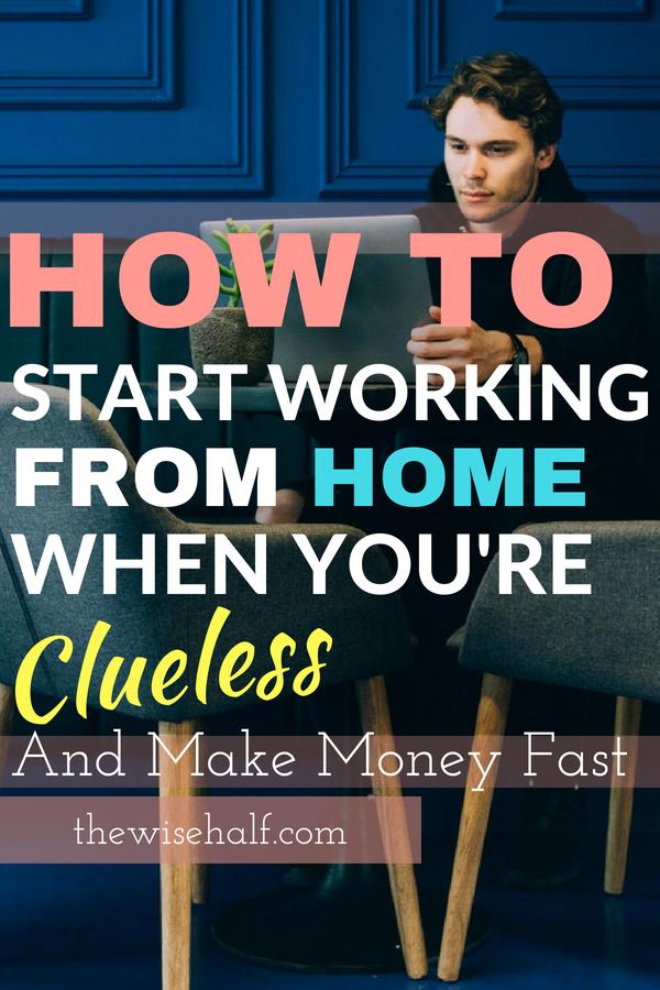 guía para principiantes de trabajo en casa: la mitad sabia